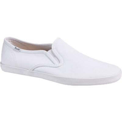 girls wearing white keds champion slip ons