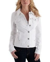 GUESS Alisana Denim Jacket White