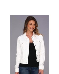 Big Star Copen Denim Jacket In White Coat White