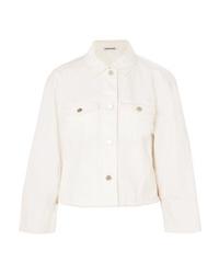 Elizabeth and James Branson Cropped Denim Jacket