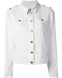 Burberry Brit Fitted Power Stretch Denim Jacket