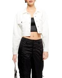 Topshop Classic Crop Denim Jacket