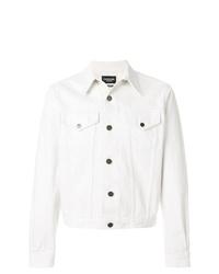 Calvin Klein 205w39nyc Denim Jacket 379 Farfetch Com Lookastic