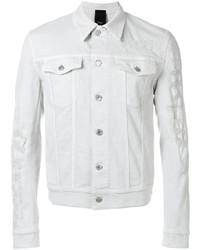 Dior homme distressed denim jacket medium 1191510