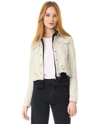 Double wave denim jacket medium 1196327