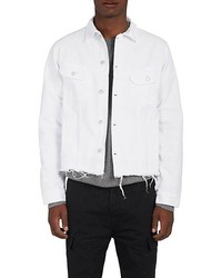 Officine Generale Frayed Denim Jacket
