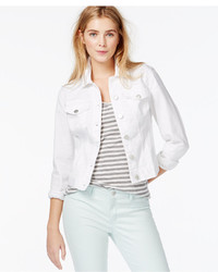Women's White Denim Jackets from Macy's | Women's Fashion