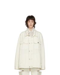 Maison Margiela Off White Denim Boxy Jacket