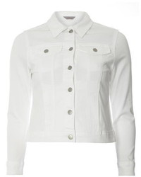 Dorothy Perkins Petite White Denim Jacket