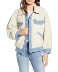 WRANGLE R Fleece Denim Jacket