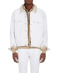 Fear Of God Sherpa Lined Denim Trucker Jacket