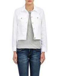 Sea Stretch Denim Jacket White