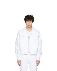 Random Identities White Denim Jacket
