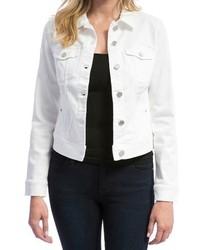 Liverpool Jeans Company White Denim Jacket