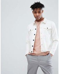 ONLY & SONS White Denim Jacket