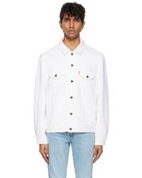 Levi's White Denim Vintage Fit Trucker Jacket