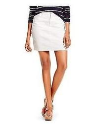Tommy Hilfiger Classic White Denim Skirt