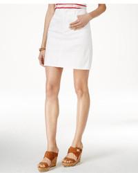 Tommy Hilfiger Denim White Wash Pencil Skirt