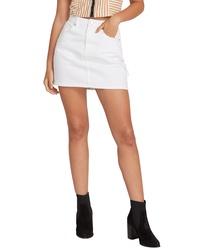 Volcom Fix It Denim Miniskirt