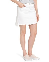 Vineyard Vines Highlow Denim Miniskirt