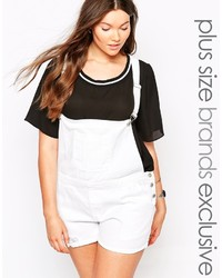 Alice & You Short Overalls