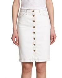 Current/Elliott Dorothy Denim Pencil Skirt