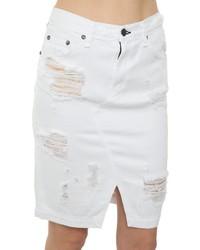 Rag and Bone Rag Bone Branson Pencil Skirt White | Where to buy ...