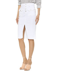 7 For All Mankind Utility Pocket Skirt
