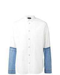 N°21 N21 Denim Sleeves Shirt