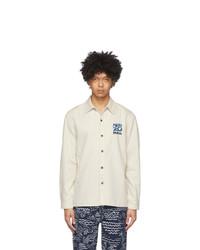 Kenzo Off White Denim Shirt