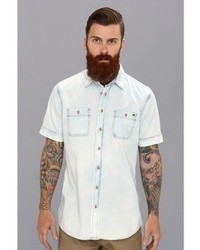 Buffalo David Bitton Sandro Denim Ss Shirt