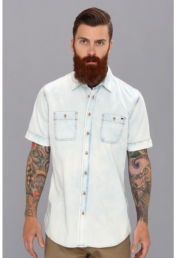 Buffalo David Bitton Sandro Denim Ss Shirt | Where to buy & how to ...