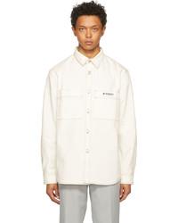 Misbhv White Recordings Work Shirt