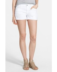 7 for all mankind cuffed denim shorts medium 233262