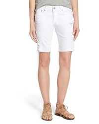 Ag nikki cutoff denim bermuda shorts medium 532524