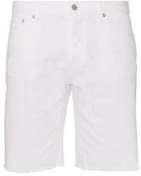 MAISON KITSUNE Maison Kitsun Raw Edge Denim Shorts