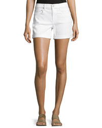 Vince Mason Denim Shorts White