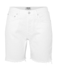 Agolde Rumi Frayed Denim Shorts