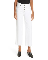 Rag & Bone Jean Justine High Waist Ankle Wide Leg Trouser Jeans