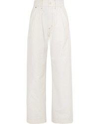 Goldsign The Trouser High Rise Wide Leg Jeans
