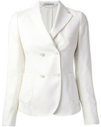 White double breasted blazer original 2628177