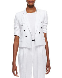Milly Cropped Sailor Style Blazer