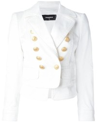 Dsquared2 Layered Double Breasted Blazer