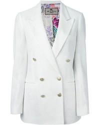 Etro Double Breasted Jacket