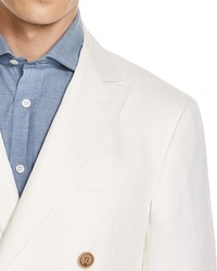 Canali Kei Double Breasted Classic Fit Sport Coat
