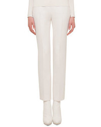 Akris Carlota Double Faced Straight Leg Pants