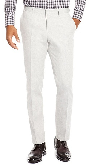 Hugo Boss Genesis Slim Fit Cotton Dress Pants | Where to buy & how ...