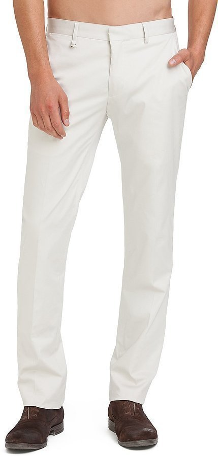 GUESS by Marciano Stone White Suit Pant Slim Fit | Where to buy ...