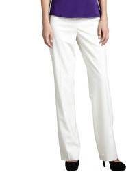 Lafayette 148 New York Wear Pants Winter White - Where to buy ...