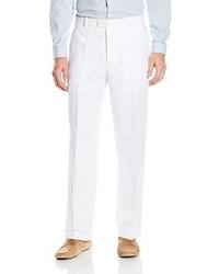 Perry Ellis Classic Fit Flat Front Linen Pant